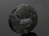 Carbon clutch cover, honda msx125 grom  (msx-10074)