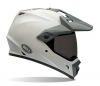 Bell helm - MX-9 Adventure Solid White